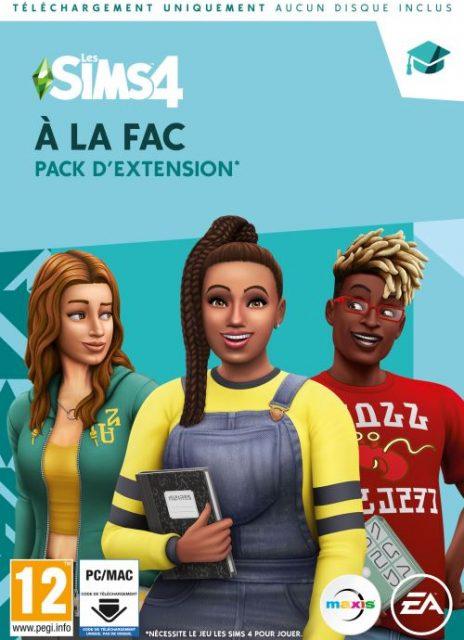 Les Sims 4 – A la Fac